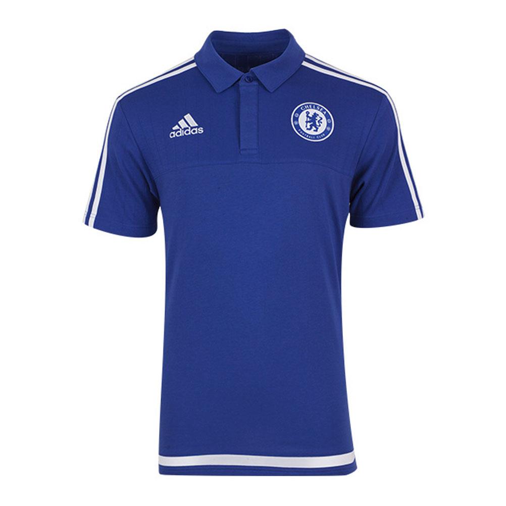 ADIDAS-chelsea-football-polo-blue