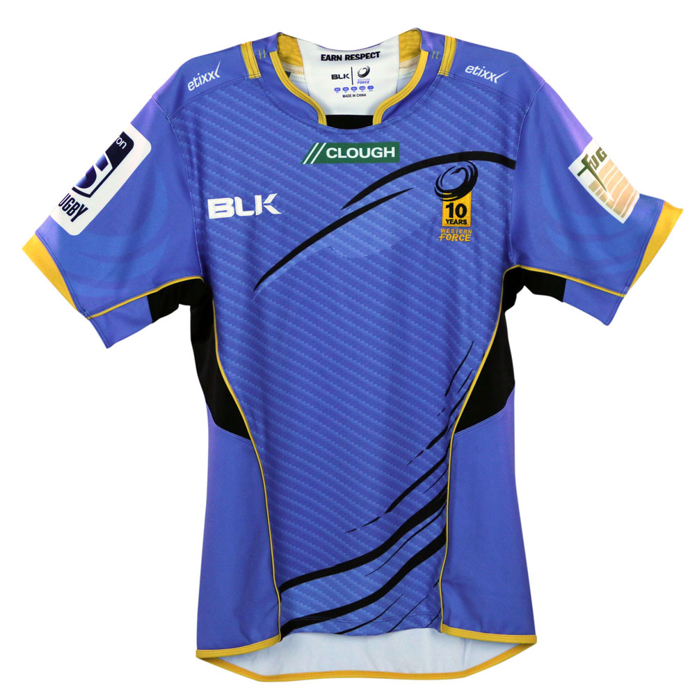 BLK western force home rugby shirt [bluee]